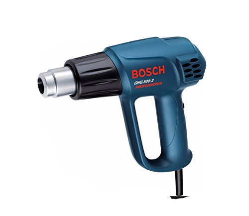 Bosch GHG 500-2 Professional Heat Gun 1600W / 300 - 500 °C / 220 Volt , Europe Type Plug Horizontal Air Grinder