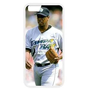 MLB iPhone 6 White Tampa Bay Devil Rays cell phone cases&Gift Holiday&Christmas Gifts NBGH6C9125506