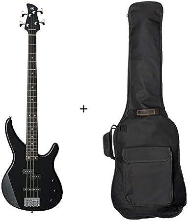 Pack Yamaha TRBX174BL – Bajo eléctrico negro (+ funda): Amazon.es ...