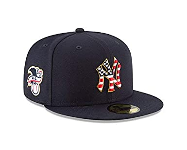 425e78f9360c6 New Era New York Yankees 2018 Stars   Stripes 4th of July 59Fifty Hat at  Amazon Men s Clothing store