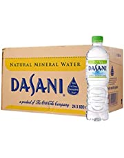Dasani Mineral Water Case, 600ml (Pack of 24)