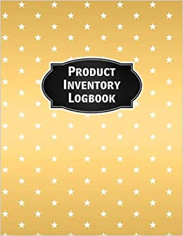 product inventory logbook inventory log book record sheet large 8 5