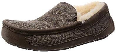 ugg men's ascot tweed slippers