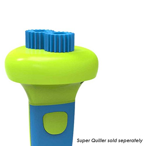 Crimping Buddy - Blue : Attachment For Super Quiller Quilling Tool