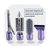 Hair Dryer Brush 4 In 1 Hair Straightener Curler Comb Electric...