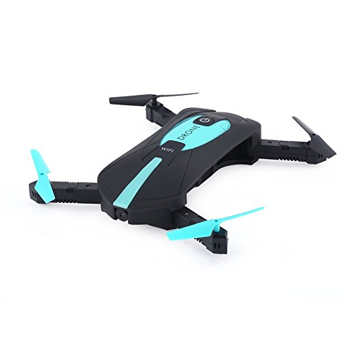 Ballylelly Jun YI Toys JY018 Telecamera Pieghevole FPD Portatile con Fotocamera 3D Flip a 2,4 GHz