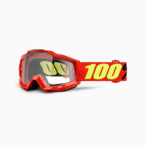 100% Unisex-Adult Speedlab (50204-203-02) ACCURI OTG Goggle Saarinen-Clear Lens, One ()