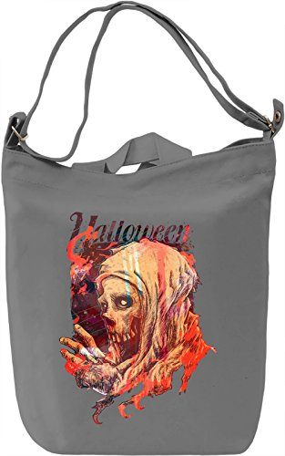 Halloween Borsa Giornaliera Canvas Canvas Day Bag| 100% Premium Cotton Canvas| DTG Printing|