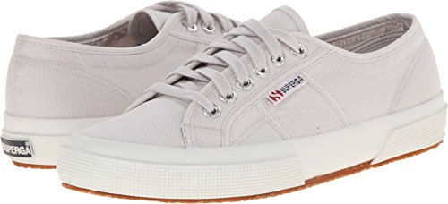 Superga Unisex 2750 Cotu  Grey Seashell Classic Sneaker - 41.5 M EU / 10 B(M) US Women / 7 D(M) US - Grey Seashell