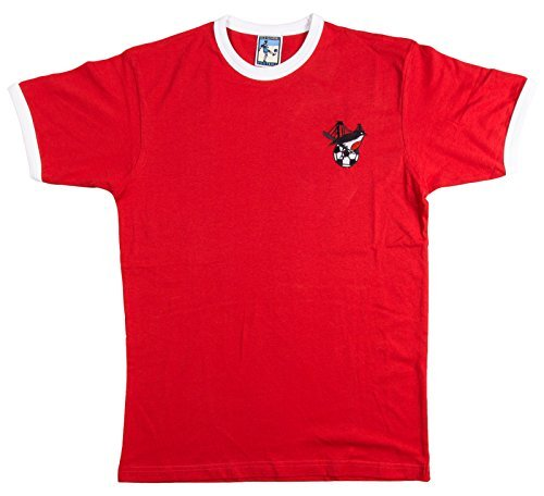 Old School Football Ciudad De Bristol 1980s Camiseta Fútbol Retro - algodón, - Keine Angaben, 100% algodón, Hombre, Small, Rojo: Amazon.es: Ropa y ...