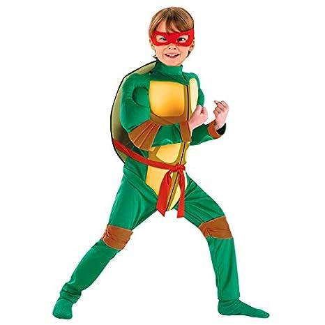 Disfraz Super Héroe Tortuga niño infantil (7-9 años)