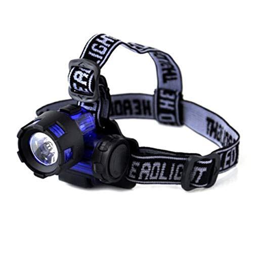 (1 Set 2000 Lumen 3W LED Headlamps Ultra Xtreme Waterproof Headlights Likely Fashionable High Lumens Bright Light Hiking Running Hunting Camping Tactical Flashlights)