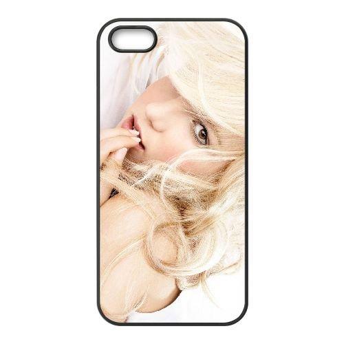 Britney Spears 001 coque iPhone 5 5S cellulaire cas coque de téléphone cas téléphone cellulaire noir couvercle EOKXLLNCD22456