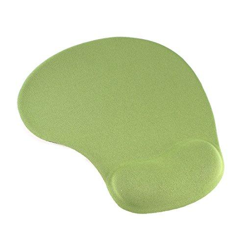 uxcell Gel PC Desktop Soft Comfort Wrist Rest Support Mouse Pad Mice Mat Grass Green