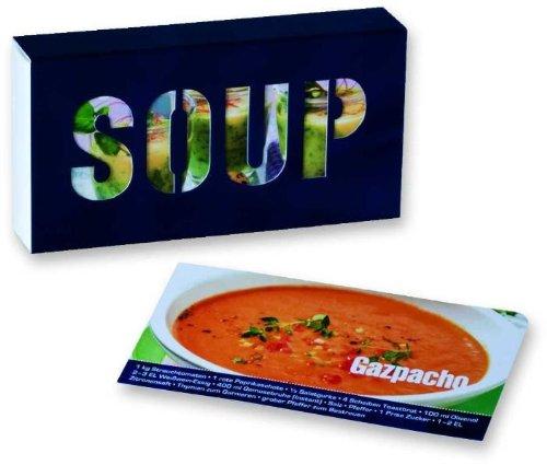 Kochbuch - Geschenkidee NEU! Rezepte für die Suppe und den Eintopf. Kochbox SOUP