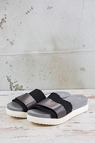Bernie Mev Womens Sandals Black Schwarz YebWd