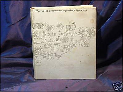 Livres Encyclopedie des cuisines regionales et etrangeres pdf epub