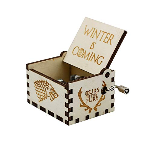 VDV Music Box - Wholesale Hand cranked Wood Music Box let it go Castle inthe Sky Game of Thrones musics a in Stock -