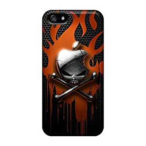Iphone 5/5s AOv12727sjqw Provide Private Custom Stylish Metallica Series Scratch Protection Cell-phone Hard Covers -Marycase88