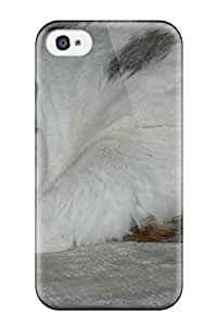 4726948K32916785 Premium Case With Scratch-resistant/ Munchkin Cats Case Cover For Iphone 4/4s