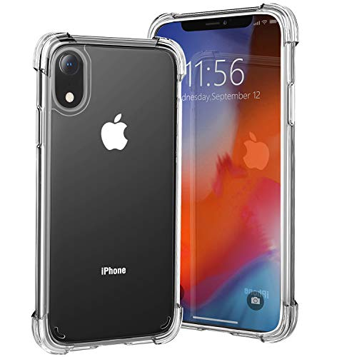 iPhone XR Case, Beikell Drop-Proof Anti-Scratch Clear Bumper Cover for iPhone XR 6.1 Inch - Thicken Soft Silicone Four Corner and Edge Shock-Absorption Design