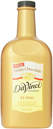 - DaVinci Gourmet Sauce, White Chocolate, 64 Ounce