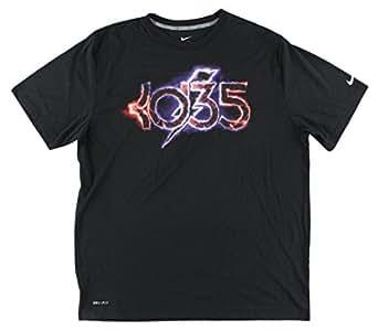 Amazon.com  NIKE Mens KD Foundation Lightning Dri-Fit T-Shirt ... e1dbe74ed