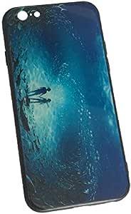 حافظات وأغطية هاتف آبل آيفون 6 بلس من الزجاج اللامع