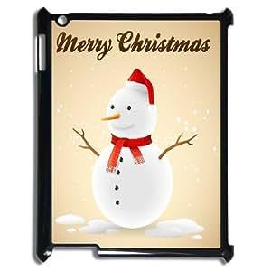 DIY Phone Case for Ipad 2,3,4, Christmas Snowman Cover Case - HL-708283