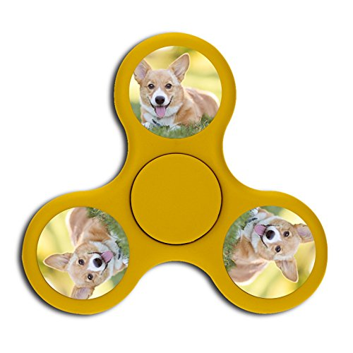 Hand Spinner Finger Spinner The corgis of the play Top Focusing Toys High Speed Durable Bearing Stress (Play Club Penguin Halloween)