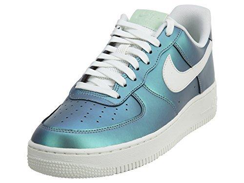 Nike Air Force 1 07 LV8 Mens Shoes Fresh MintSummit WhiteBlack 823511 301 (11 D(M) US)