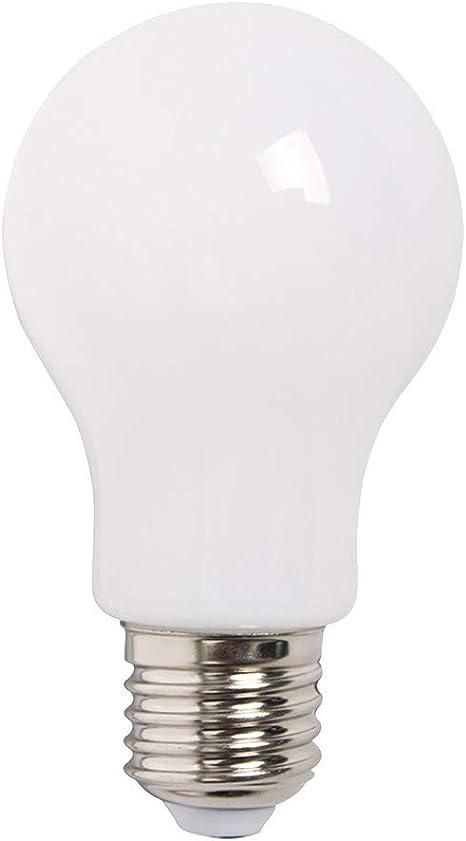 5 x LED Filament Leuchtmittel Tropfen 4W = 40W E27 opal matt Glas warmweiß 2700K