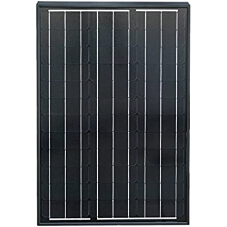 ECO WORTHY 60 Watts 12 Volts Monocrystalline Photovoltaic PV Solar Panel Module For Battery Charging RV Boat Off Grid