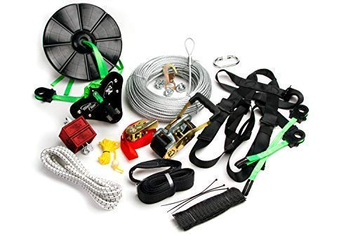 Alien Flier X3-H150 Backyard Zip Line Kit