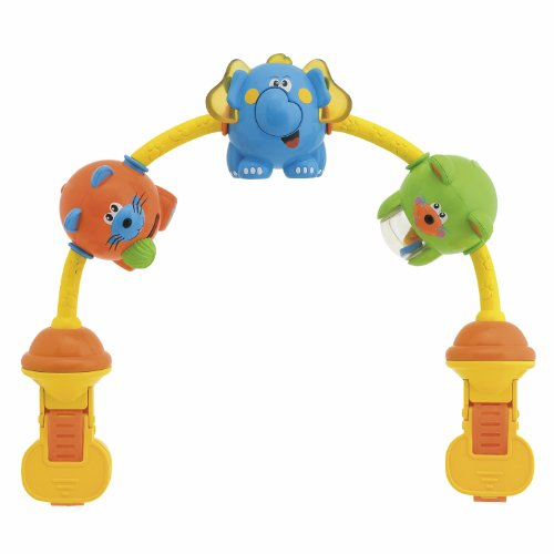 Chicco- 20Cm Dancing Animals Musical Stroller Toy by Ravensburger
