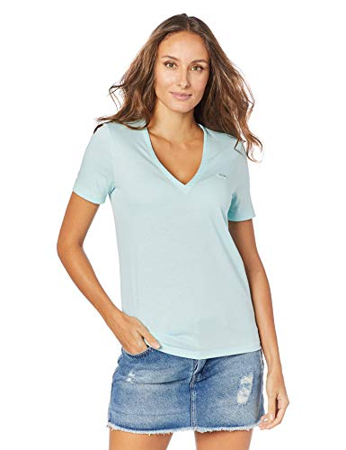 Camiseta, Lacoste, Feminino, Azul Claro, 3G