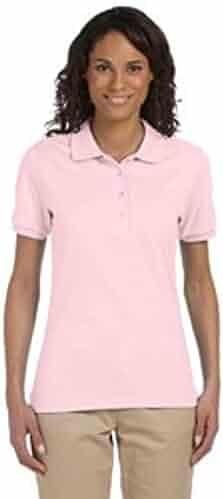 ce01bc18 Ladies 5.6 Oz. 50/50 Jersey Sport Shirt With Spotshield? Royal - 2Xl