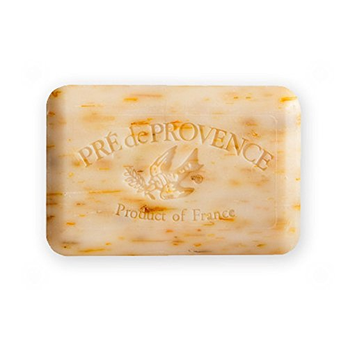 Provence Green Milled Soap - Pre de Provence Shea Butter Enriched Artisanal French Soap Bar (250 g) - Tiare