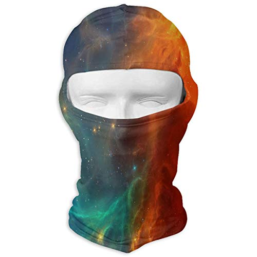 - Balaclava Red And Blue Star Sky Universe Full Face Masks UV Protection Ski Hat Womens Headwear for Motorcycle