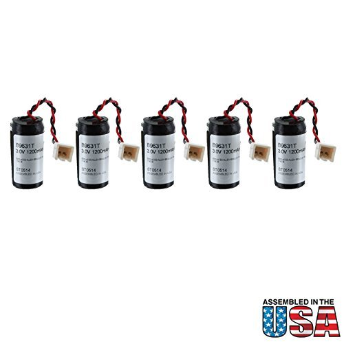 10pc Exell Battery 3V PLC Backup Battery Allen Bradley 1745-B1 SLC-100 Replaces COMP-108 Allen Bradley 1745-B1, Allen Bradley A-40840-512-01, Allen Bradley B9631T, Allen Bradley SLC-100, Allen Bradley SLC-150, Dantona COMP-295, Eternacell B9631T, Exell Battery EBPLC-108, Interstate Batteries ALIT2630, Programmable Logic Co B9631T, Programmable Logic Co SLC100, Programmable Logic Co SLC150