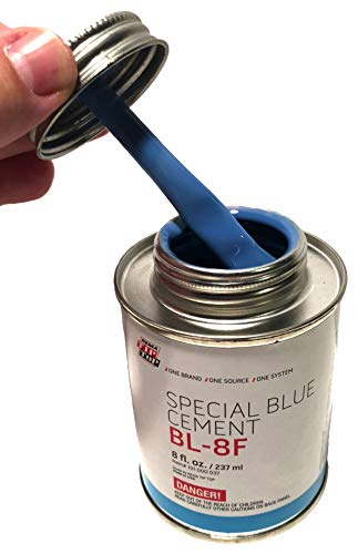 Rema Tip - Rema BL-8F Special Blue Cement (8 oz. Can) USA Rubber Bonding Tip Top