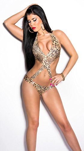 In-Stylefashion - Tankini - para mujer leopardo