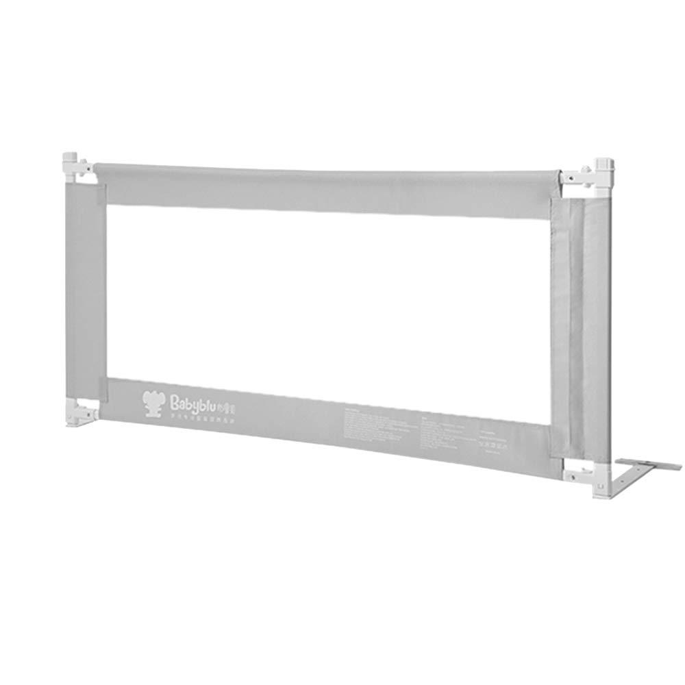 LHA ベッドガードフェンス 幼児のアンチフォールトベッドガードレールFoldableバッフルは丈夫で実用的です - 150cm、180cm、200cm (色 : Gray, サイズ さいず : L-180cm) L-180cm Gray B07L7ZWRTJ