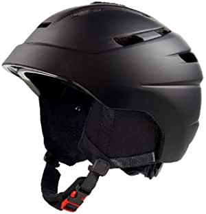Crivit Inmold 90095 - Casco de esquí y snowboard (tamaño mediano), color negro: Amazon.es: Deportes y aire libre