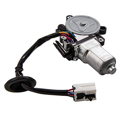 Window Lift Motor Front Left Driver Side for 2003-2009 Nissan 350Z 2003-2007 Infiniti G35 2 Door Coupe Model Replace Part # Motor 80731-CD00A 80731CD00A 742-511