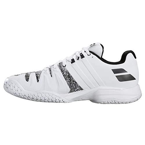 Babolat Propulse Blast All Court Mens Tennis Shoe - White/Black - Size 10.5 ()