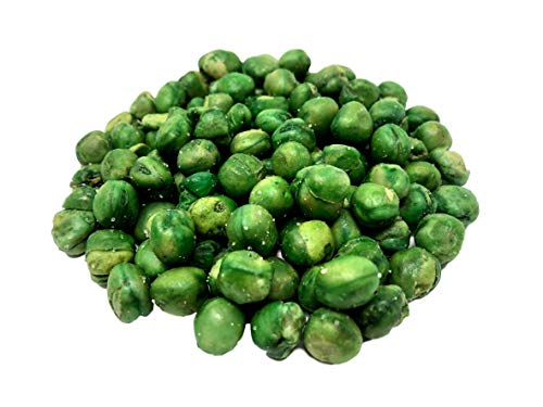 NUTS U.S. - Green Peas | Fried and Sea Salted| Non GMO and Gluten Free | Fresh and Delicious | Kosher Certified Green Peas In Resealable Bags!!! (1 LB)