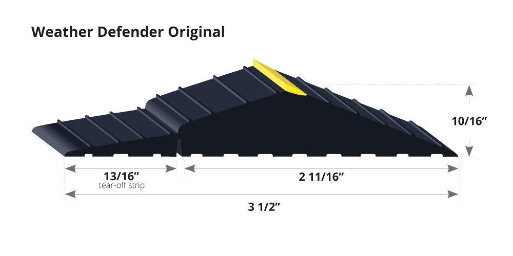 Weather Defender Original Ultimate Garage Door Threshold Floor Seal by Weather Defender (Image #7)