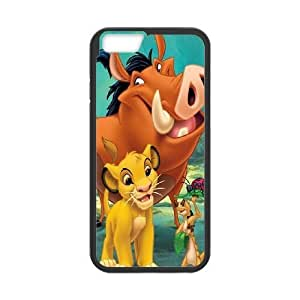 iPhone6 Plus 5.5 inch Phone Case Black Lion King ES3TY7865736