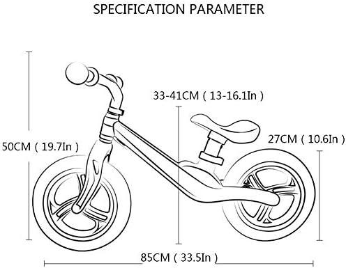XRXX Bicicleta Ligera De Equilibrio De Aleación De Magnesio Sin ...